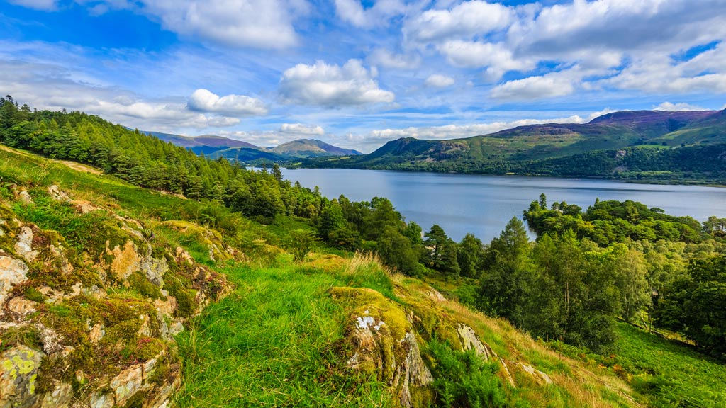 View over Derwent Water, Lake District