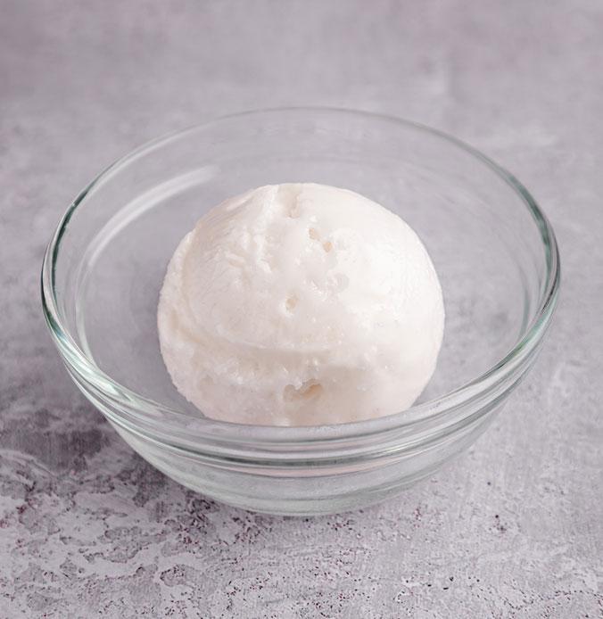 Lakes Ice Cream's Ginger Sorbet