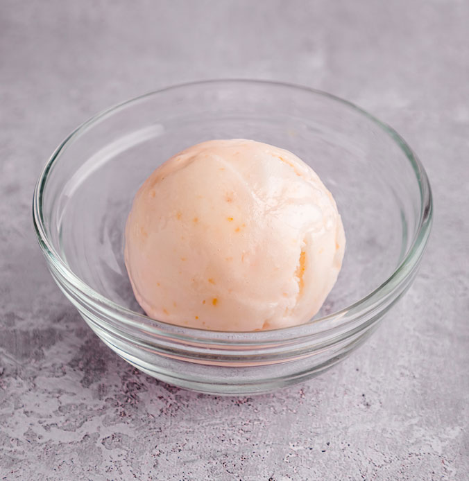 Lakes Ice Cream's Lemon Sorbet