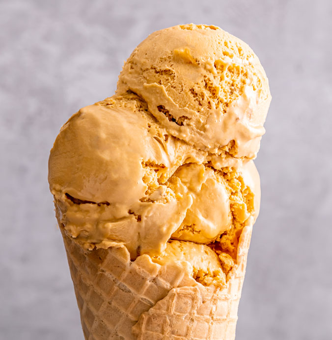 Lakes Vegan Ice Cream Salted Caramel