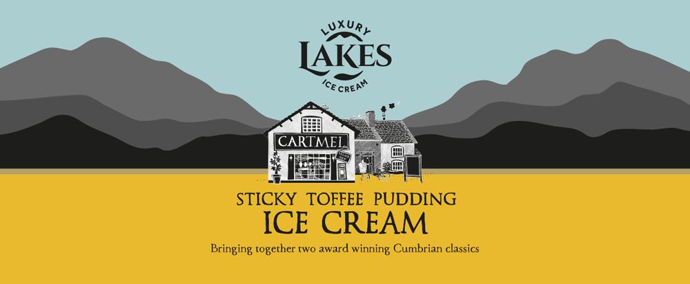 Cartmel Sticky Toffee Pudding Ice Cream